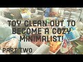 Cozy Minimalism: Toy Organization Part 2