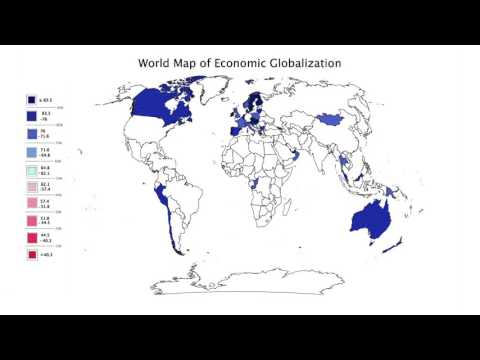 Political Economy of Institutions and Development- 6.1.1. Vis: Economic Globalization