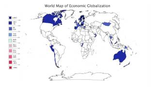 Module 6: 1.1. Visualization: World Map of Economic Globalization