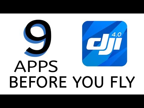 9 Apps To Use BEFORE FLYING Your DJI Drone - Flight Planning - Mavic Pro Air Phantom 4 Pro Inspire 2