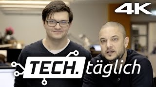 Samsung Galaxy S7 Launch, iPad Air 3 Leaks und mehr – in 4K! – TECH.täglich 01.02.2016