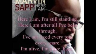 Here I Am by Pastor Marvin Sapp