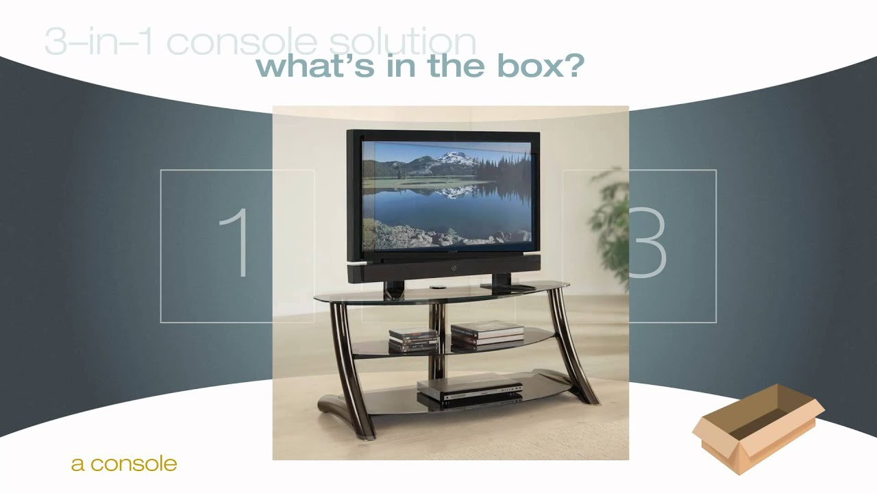 3 In 1 Console Solutions From Whalen Furniture