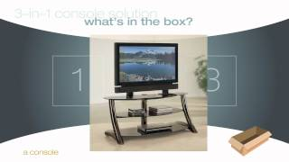 3-in-1 Console Solutions from Whalen Furniture
