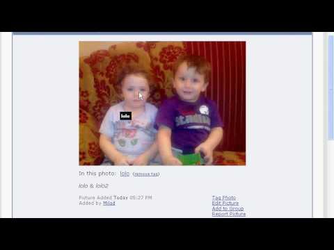 vBulletin Album Picture Annotation Hack (Tagging Photos like Facebook)