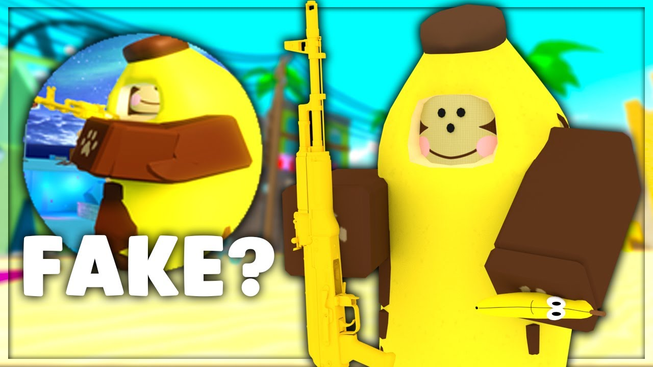 i did the steps for the monkey skin roblox arsenal