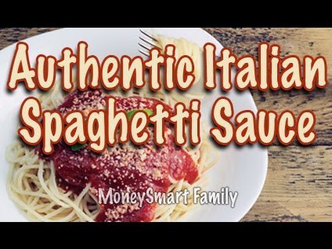 how to make authentic italian spaghetti sauce gravy from scratch youtube. Black Bedroom Furniture Sets. Home Design Ideas