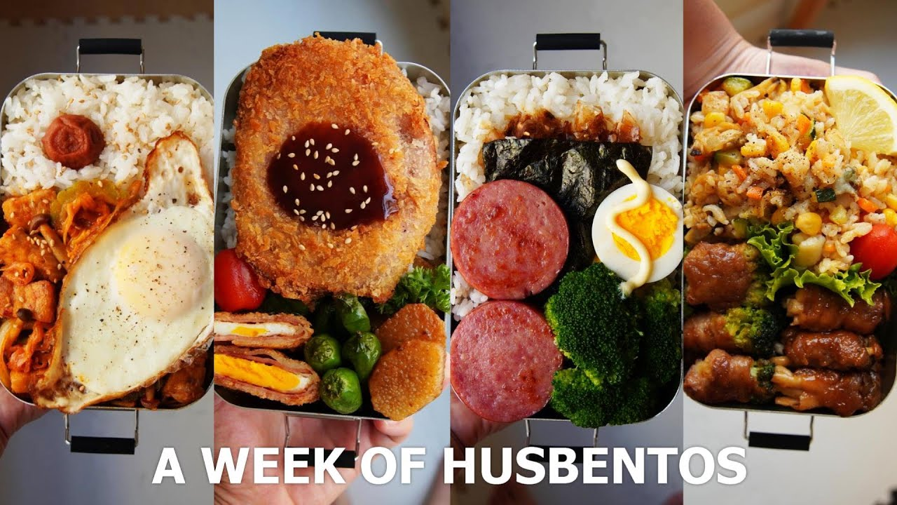 [ #24 A WEEK OF HUSBAND BENTOS ] a week I couldn't survive 🙃