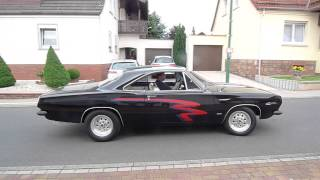 Plymouth Barracuda 1967 mit einem 6,3 Liter Chrysler-B-Big-Block