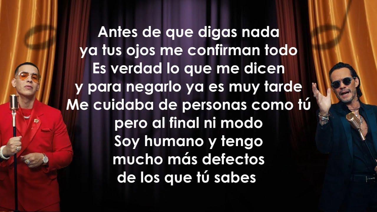 Download Daddy Yankee, Marc Anthony - De Vuelta Pa La Vuelta (Letra/Lyrics)