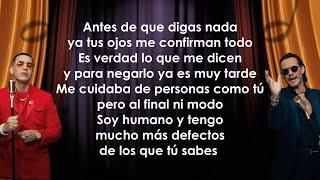 Daddy Yankee, Marc Anthony - De Vuelta Pa La Vuelta (Letra/Lyrics)