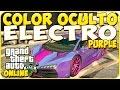 TRUCOS GTA 5 ONLINE - COLOR OCULTO ELECTRO PURPLE - GTA 5 PS4, PC Y XBOX ONE