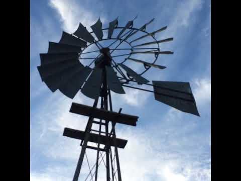 Windpump clean energy wind energy eco-friendly power The Meerkat Magic Valley Reserve South Africa