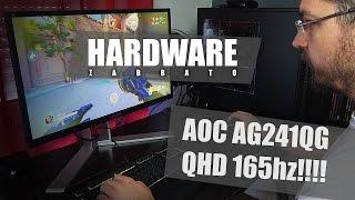ταχύτατο gaming monitor aoc agon hardware σάββατο