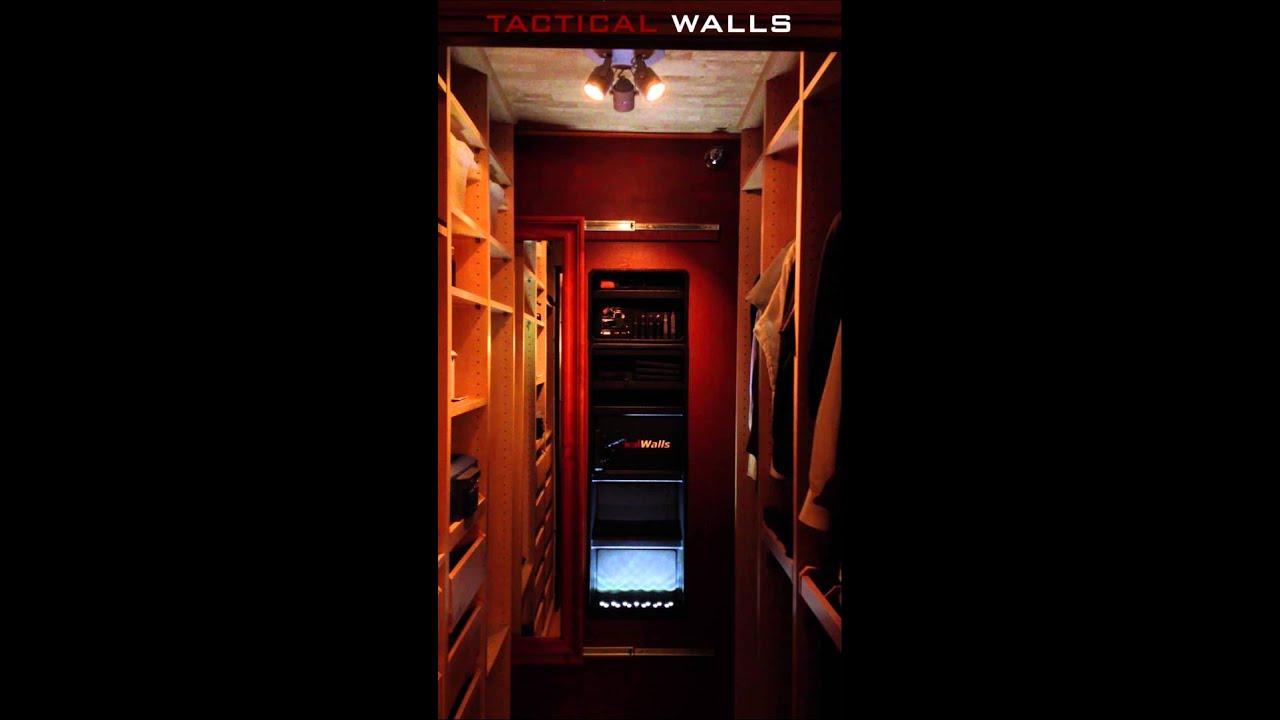 tactical walls custom mirror install youtube