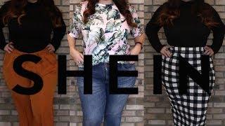 Shein Plus-Size Clothing and Try-On Haul | Uhapi Beauty