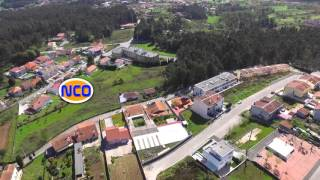 Vila de Lobão, Santa Maria da Feira, Aveiro, Portugal (Vista do Céu )