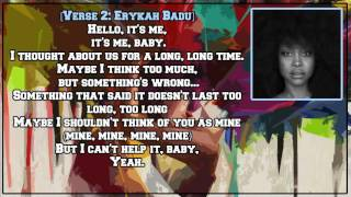 Erykah Badu - Hello (feat. Andre 3000) [Lyric Video]