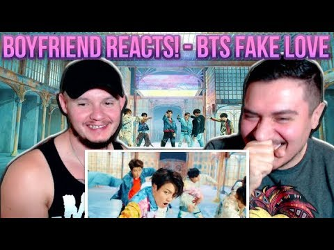 GAY COUPLE REACTS TO BTS - FAKE LOVE!!