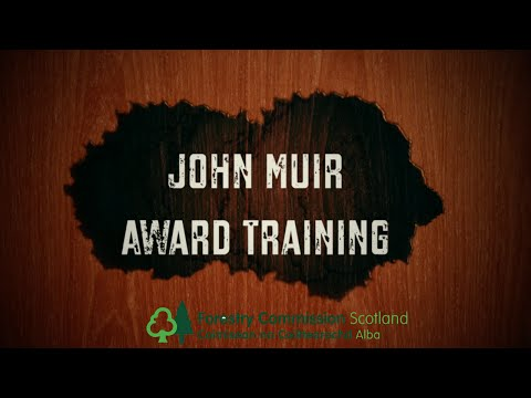 John Muir Award Training with Forestry Commission Scotland