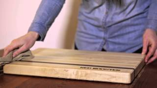 How To Clean Butcher Block Cutting Board.