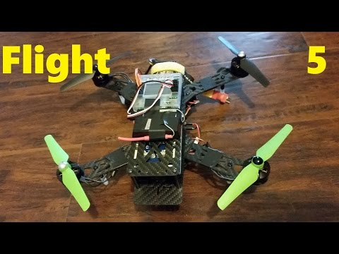 Building a Quadcopter p.5 - First flight and other Info