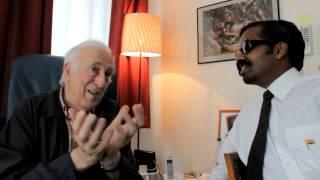 Wilbur Sargunaraj meets Jean Vanier