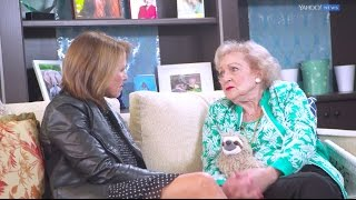 Betty White talks division in America and staying positive