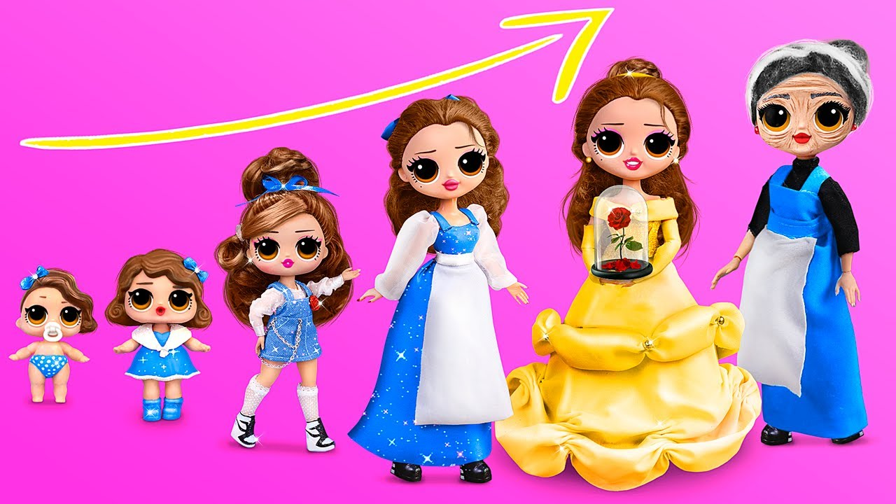 Download Belle Growing Up / 10 LOL Surprise DIYs