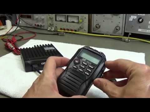 #59 CB Radio Lab Test: CRT Mike