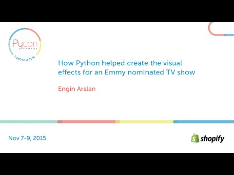 How Python helped create the visual effects for an Emmy nominated TV show (Engin Arslan)