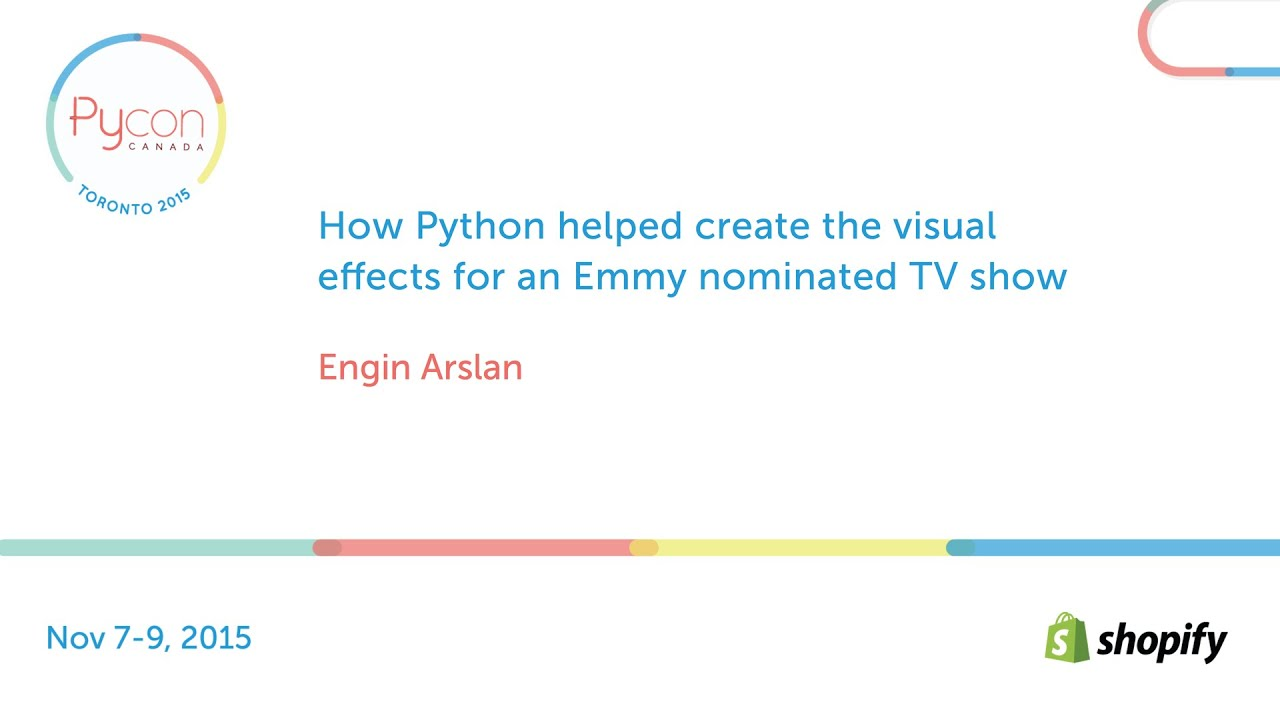 Image from How Python helped create the visual effects for an Emmy nominated TV show