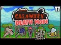 Jungle Arena The MAD Queen Bee Terraria Calamity Mod Death Mode Let S Play Episode 17 mp3