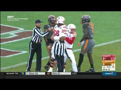 Nebraska vs Tennessee football 2016 Music City Bowl