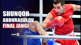 ABDURASULOV SHUNKOR (UZB) - ERDENEBAT TSENDBAATAR (MGL) ASIAN GAMES 2018 FINAL