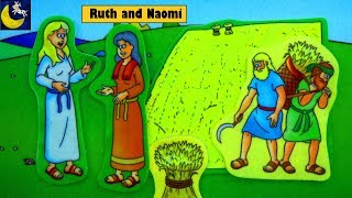 Bible Stories for Kids Ruth and Naomi Old Testament Best Bible Lesson Story Video for Children