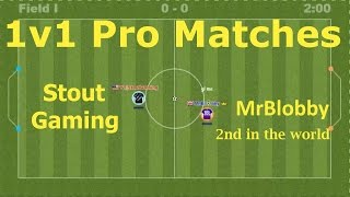 World Class Matches! 1v1 Pro Matches : MrBlobby : Teamball.io