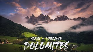Breath of the Dolomites Timelapse & Aerial 4K thumbnail