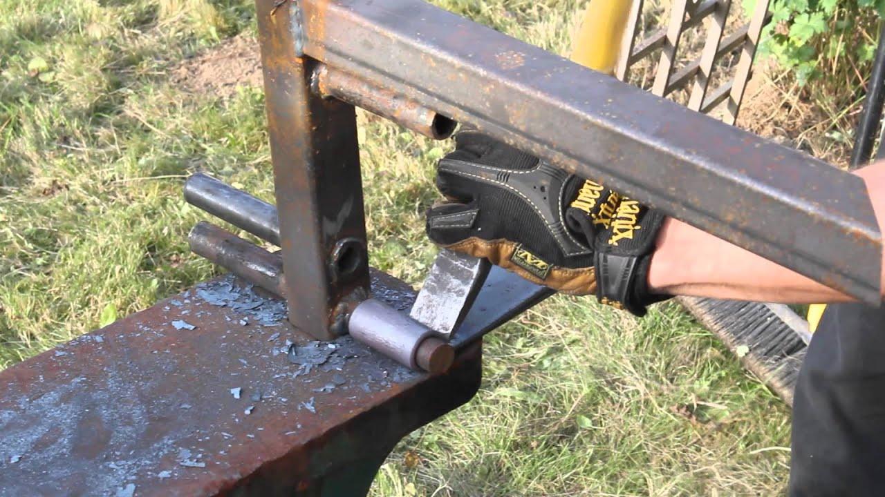 Homemade Pivot Hinge