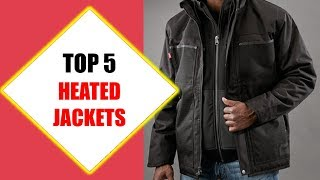 Top 5 Best Heated Jackets 2018 | Best Heated Jacket Review By Jumpy Express