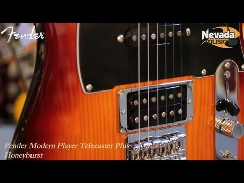 Fender Modern Player Telecaster Plus in Honeyburst - Quick Look @ Nevada Music UK