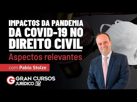 Impactos da Pandemia da Covid-19 no Direito Civil: Aspectos relevantes com Pablo Stolze