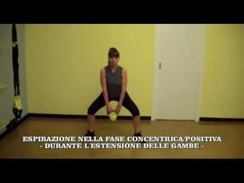 Stacchi Per Interno Coscia Con Kettlebell Youtube