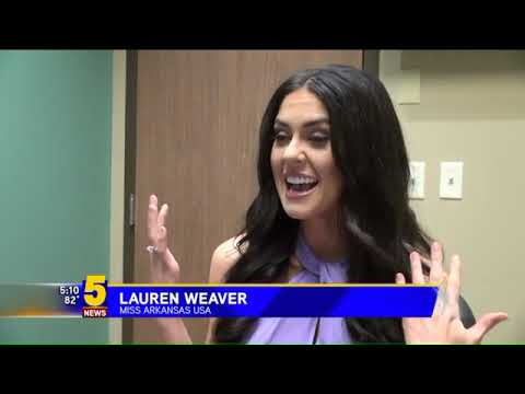 Miss Arkansas USA, Lauren Weaver, 1 Week LASIK Post-Op (KFSM)
