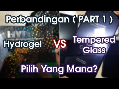 Terbaik? Hydrogel HYDRA+ vs Tempered Glass Copper Indonesia Perbandingan Screen Protector Anti Gores
