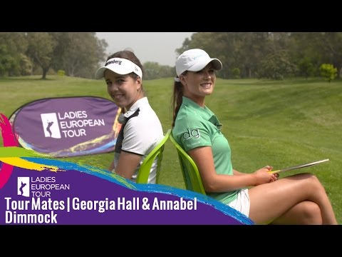 Tour Mates | Annabel Dimmock & Georgia Hall