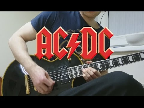 AC/DC - Thunderstruck guitar cover