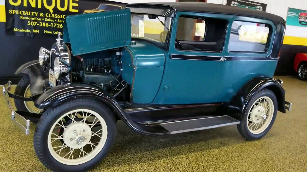1928 ford model a tudor for sale