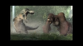 King Kong vs T. Rex Gameplay on CultZone Game Trailer