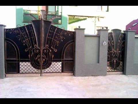 Кованые ворота, кованые заборы, металлоконструкции